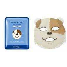 Маска-салфетка для лица Собака увлажняющая BIOAQUA
