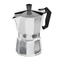 Кофеварка гейзерная, алюминий, пластиковая ручка, 300мл 850-129
