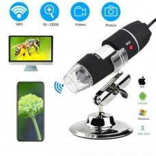 Цифровой Микроскоп USB 1000X для Windows черный