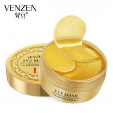 Золотая коллагеновая маска для глаз VENZEN