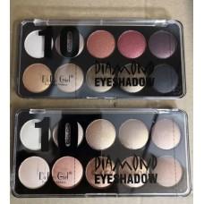 Тени DoDo girl Diamond Eyeshadow (10 цветов)