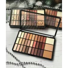 Палетка DoDo girl Make Up Studio Eyeshadow & hiliters (30 цветов теней и 3 хайлайтера)