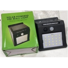 Настенный светильник с датчиком движения и солнечной батареей (Solar Powered Led Wall Light)