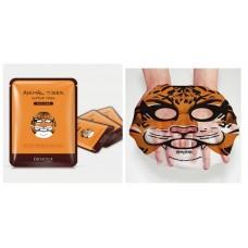 Маска для лица Bioaqua Animal Tiger тканевая