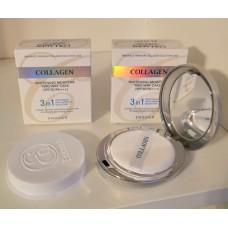 Осветляющая пудра со сменным блоком Enough Collagen Whitening Moisture Two Way Cake SPF30 PA+++  №13