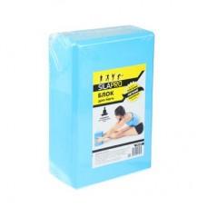 Блок для йоги, 23х15х8 см, SILAPRO,093-001
