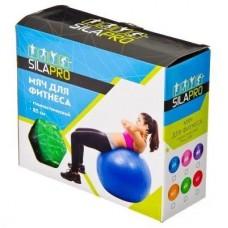 SILAPRO Мяч для фитнеса гимнастический, ПВХ, d85см, 1000гр, 6 цветов, в коробке 193-005