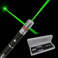 Лазерная указка 500 мВт с 2 насадками