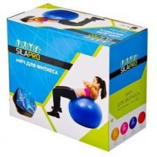 SILAPRO Мяч для фитнеса массажный, ПВХ, d75см, 1000гр, 4 цвета, в коробке 193-001