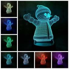 Светильник-ночник 3D в ассортименте