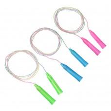 SILAPRO Скакалка, пластик, ПВХ, 2,3м х 4,3мм, 4 цвета 342-159