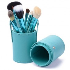 Набор кистей для макияжа в тубе, 12шт