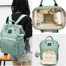 Сумка-рюкзак для мамы и малыша c USB