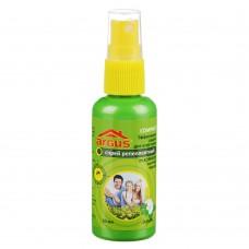 ARGUS Лосьон-спрей от комаров (репеллентный) 4 часа защиты от насекомых 50 мл, арт.А-17