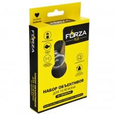 FORZA Набор объективов для телефона 3 в 1 на прищепке 916-022