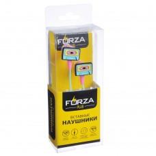 FORZA Наушники вакумные, коробка ПВХ, 12 дизайнов 916-044