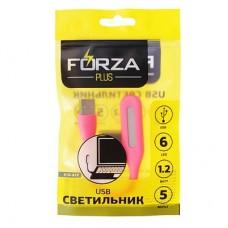 FORZA USB светильник, 169х18х9мм 916-015