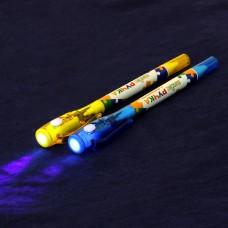 """ClipStudio Ручка шариковая с невидимыми чернилами и фонариком """"Шпаргалка"""" 622-003"""