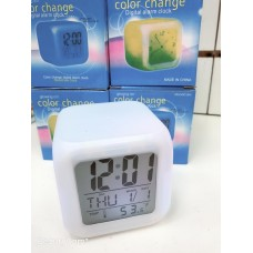 Цифровые часы-будильник MoodiCare Color Change