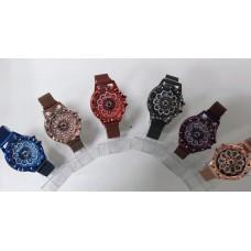 Женские кварцевые часы с вращающимся циферблатом