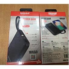 Внешний аккумулятор 10000 мАч Ipipoo LP-12