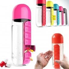 Pill & Vitamin Бутылка с органайзером для таблеток