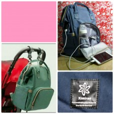 Рюкзак-сумка для мамы на коляску Mummy Bag с USB