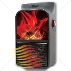 Камин обогреватель Flame Heater с ПУЛЬТОМ (Быстрое тепло)