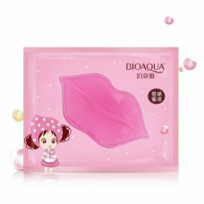 маска для губ BioAqua с коллагеном