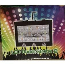 Светодиодный комнатный стробоскоп/проектор 12 диодов