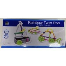Конструктор из трубочек Rainbow Twist Rod NO.HD848