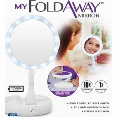 """Зеркало со светодиодами """"My fold away mirror"""""""