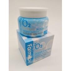 Крем  O2 Premium Aqua Cream  Farm Stay 100g Корея