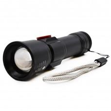 Карманный яркий светодиодный аккумуляторный LED фонарь SY2005-P60 Cree с USB