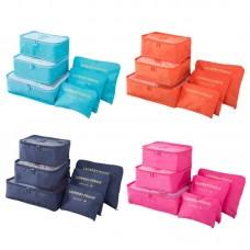 Комплект из 6 дорожных органайзеров Laundry Pouch