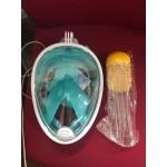 Полнолицевая подводная маска для снорклинга Easybreath